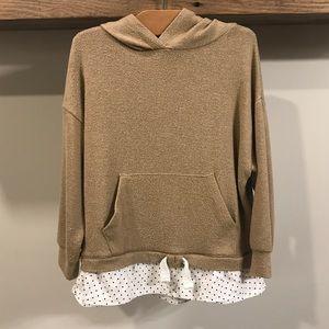 3/$35 - Zara oversized layered sweater
